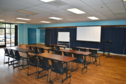 A good setup for business or nonprofit meetings
